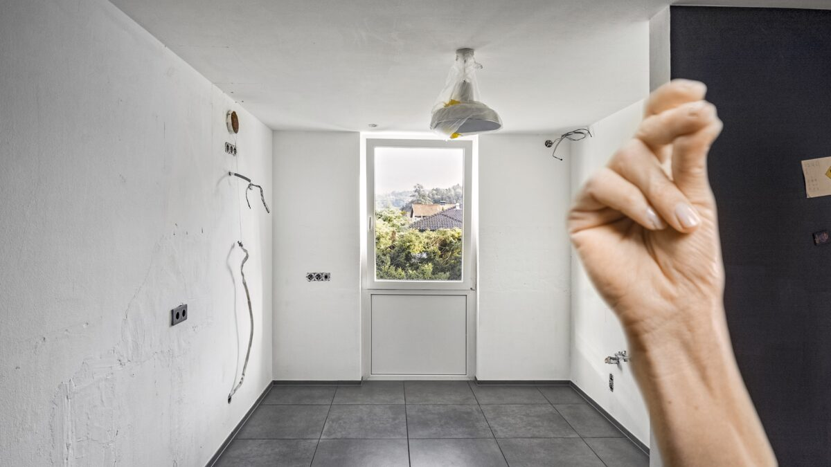 ... anhand des Küchengrundrisses, der eigenen Anforderungen und mit Kreativität ...