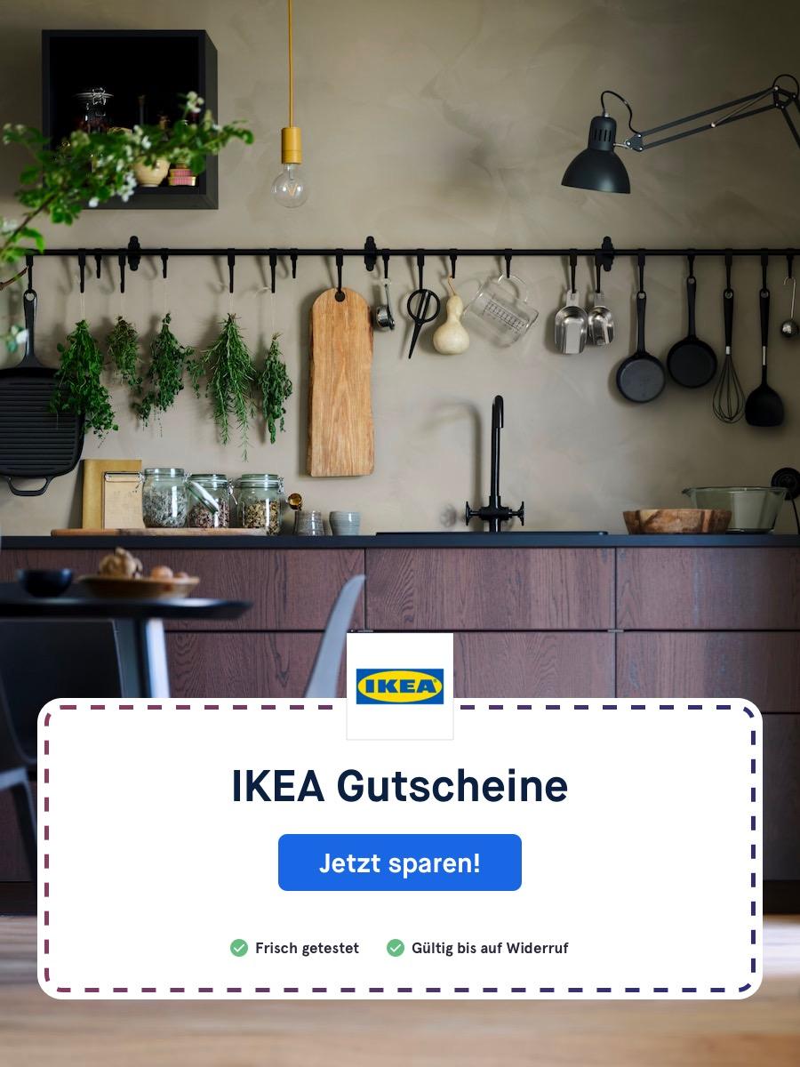 IKEA Gutscheine sichern und günstiger einkaufen.
