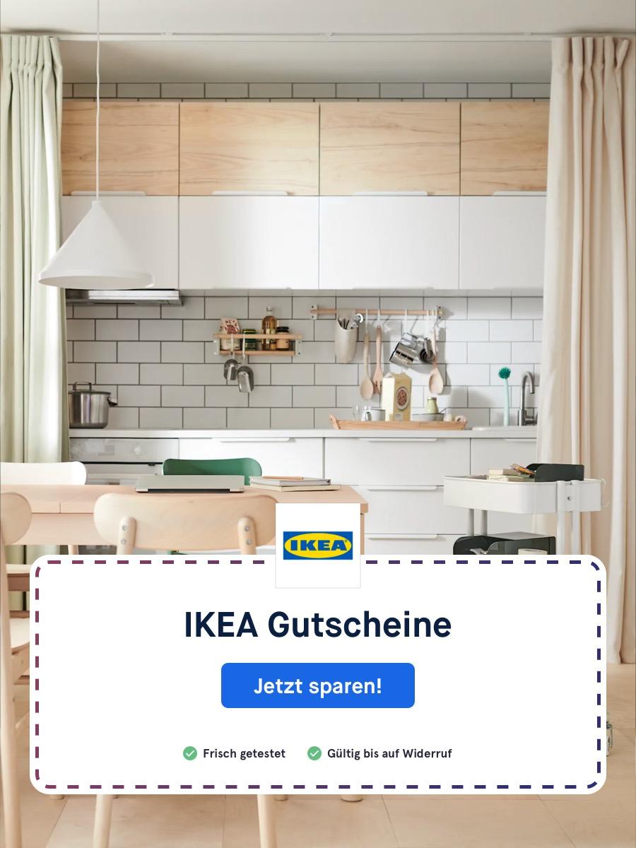 Jetzt günstiger einkaufen mit passenden Ikea Gutscheinen und Rabatten (Coupons).