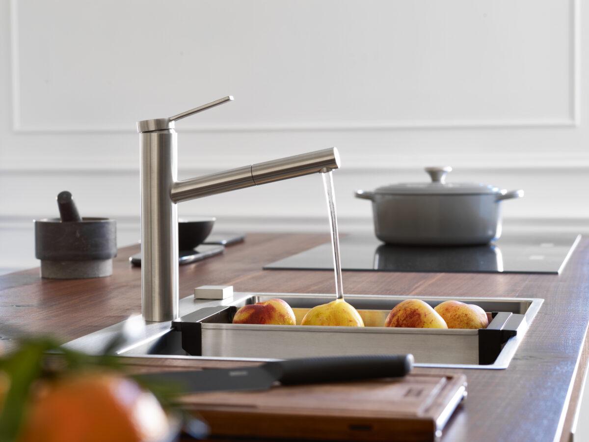 Zeitlos schön und mit präzisem Design überzeugt die Tango Neovon Franke. Sie ist aus einem Guss gefertigt und daher besonders robust und pflegeleicht.