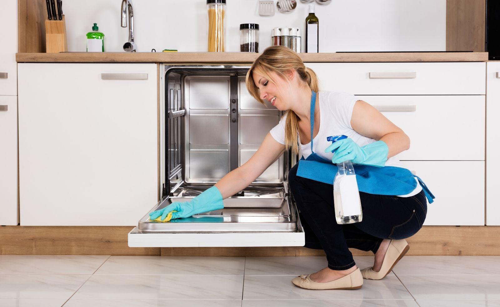 Spülmaschine reinigen
