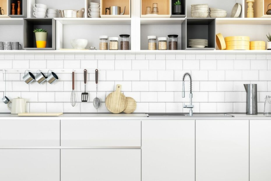 Wie viel Stauraum in der Küche braucht man?