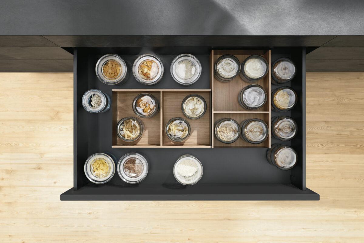 Alle zusätzlichen 5 cm mehr Stauraum - können in Summe viel bewirken.Foto: Julius Blum GmbH
