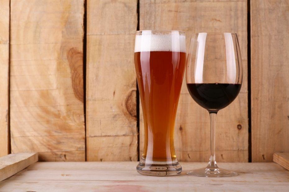 Kalorien Bier und Wein