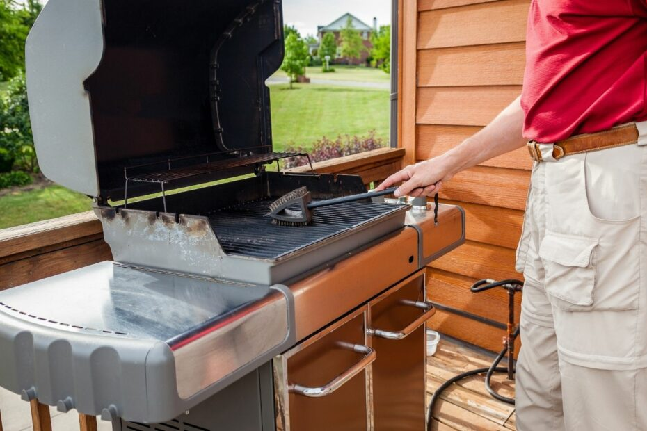 grill grillrost reinigen