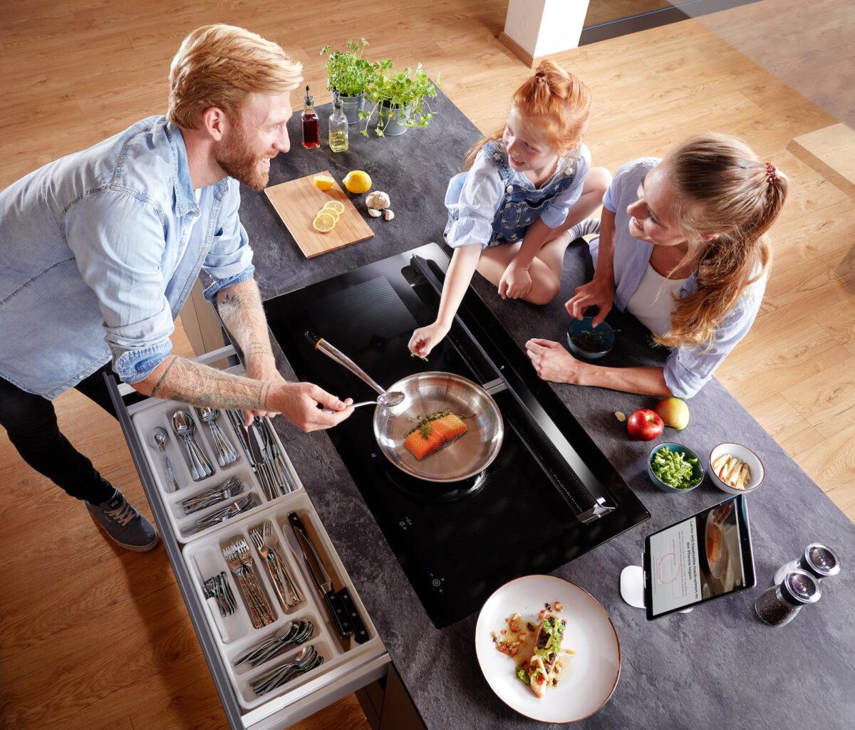 Das revolutionäre, smarte Kochsystem be-cook von ORANIER wurde mit dem Kitchen Innovation Award 2021 ausgezeichnet