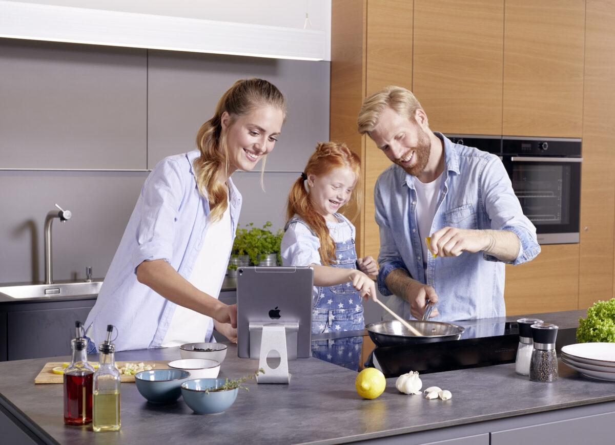 Das Kochen mit be-cook ist kinderleicht und macht selbst den Kleinsten Spaß!