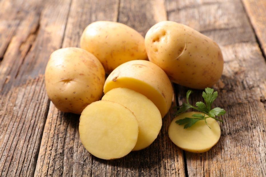 Kartoffeln helfen bei versalzenem Essen