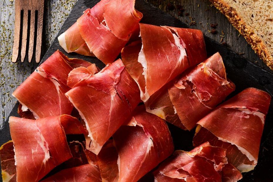 Nicht nur gekochter, auch Rohschinken lässt sich problemlos einfrieren